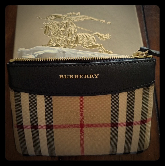 Burberry Handbags - Burberry Putney Horseferry Mini Pouch